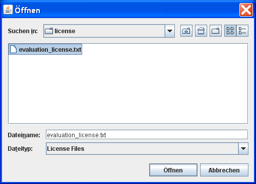 VFSLib License Chooser
